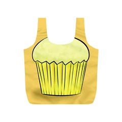 Cake Bread Pie Cerry Full Print Recycle Bags (s)  by Alisyart
