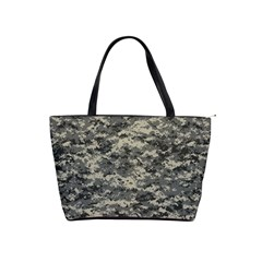 Us Army Digital Camouflage Pattern Shoulder Handbags by Simbadda