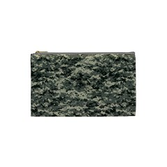 Us Army Digital Camouflage Pattern Cosmetic Bag (small)  by Simbadda