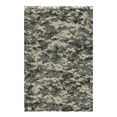 Us Army Digital Camouflage Pattern Shower Curtain 48  X 72  (small)  by Simbadda