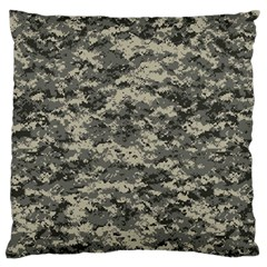 Us Army Digital Camouflage Pattern Large Cushion Case (one Side) by Simbadda