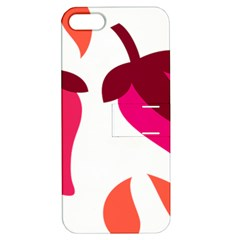 Chili Apple Iphone 5 Hardshell Case With Stand by Alisyart