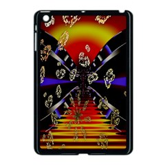 Diamond Manufacture Apple Ipad Mini Case (black) by Simbadda
