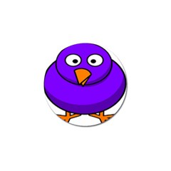 Cartoon Bird Purple Golf Ball Marker (10 Pack) by Alisyart