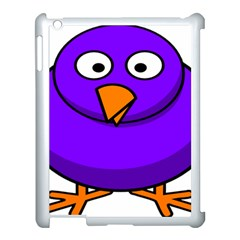Cartoon Bird Purple Apple Ipad 3/4 Case (white)