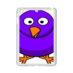 Cartoon Bird Purple Ipad Mini 2 Enamel Coated Cases