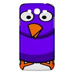 Cartoon Bird Purple Samsung Galaxy Mega 5 8 I9152 Hardshell Case  by Alisyart