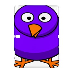 Cartoon Bird Purple Galaxy Note 1 by Alisyart