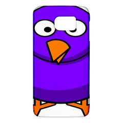 Cartoon Bird Purple Galaxy S6