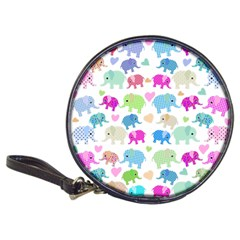 Cute Elephants  Classic 20 Cd Wallets