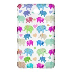 Cute Elephants  Samsung Galaxy Tab 4 (7 ) Hardshell Case  by Valentinaart