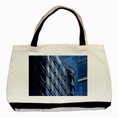 Building Architectural Background Basic Tote Bag (two Sides) by Simbadda