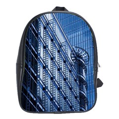 Building Architectural Background School Bags(large)  by Simbadda