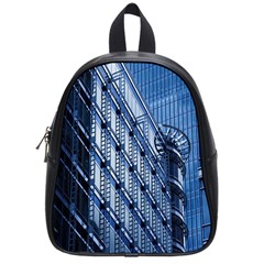 Building Architectural Background School Bags (small)  by Simbadda