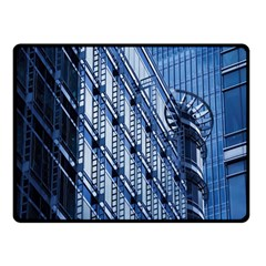 Building Architectural Background Fleece Blanket (small) by Simbadda