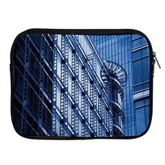 Building Architectural Background Apple Ipad 2/3/4 Zipper Cases by Simbadda