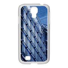 Building Architectural Background Samsung Galaxy S4 I9500/ I9505 Case (white) by Simbadda