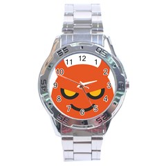 Devil Stainless Steel Analogue Watch