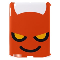 Devil Apple Ipad 3/4 Hardshell Case (compatible With Smart Cover)