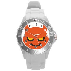 Devil Round Plastic Sport Watch (l) by Alisyart