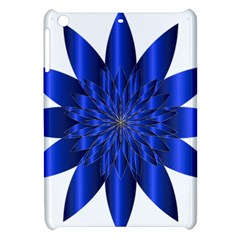 Chromatic Flower Blue Star Apple Ipad Mini Hardshell Case by Alisyart
