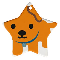 Dog Ornament (star)