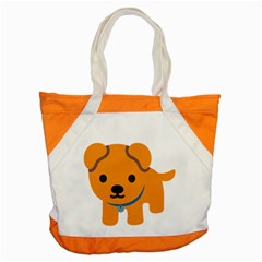 Dog Accent Tote Bag by Alisyart