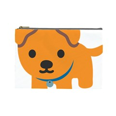 Dog Cosmetic Bag (large)  by Alisyart
