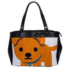Dog Office Handbags by Alisyart