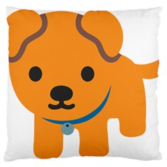 Dog Large Cushion Case (two Sides)