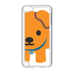 Dog Apple Ipod Touch 5 Case (white) by Alisyart