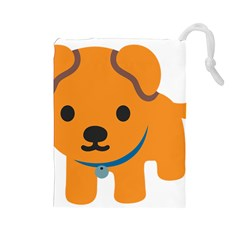 Dog Drawstring Pouches (large)