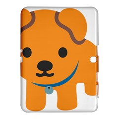 Dog Samsung Galaxy Tab 4 (10 1 ) Hardshell Case  by Alisyart