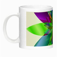 Chromatic Flower Variation Star Rainbow Night Luminous Mugs by Alisyart
