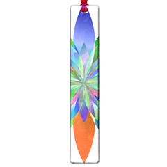 Chromatic Flower Variation Star Rainbow Large Book Marks by Alisyart