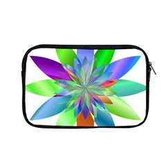 Chromatic Flower Variation Star Rainbow Apple Macbook Pro 13  Zipper Case by Alisyart
