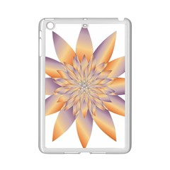 Chromatic Flower Gold Star Floral Ipad Mini 2 Enamel Coated Cases