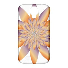 Chromatic Flower Gold Star Floral Samsung Galaxy S4 Classic Hardshell Case (pc+silicone) by Alisyart
