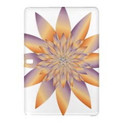 Chromatic Flower Gold Star Floral Samsung Galaxy Tab Pro 12 2 Hardshell Case by Alisyart