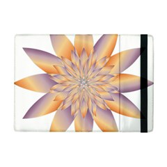 Chromatic Flower Gold Star Floral Ipad Mini 2 Flip Cases by Alisyart