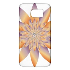 Chromatic Flower Gold Star Floral Galaxy S6 by Alisyart