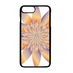 Chromatic Flower Gold Star Floral Apple Iphone 7 Plus Seamless Case (black)