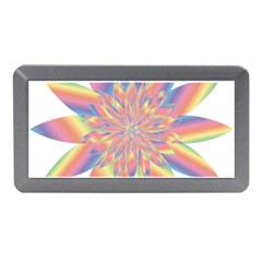 Chromatic Flower Gold Rainbow Star Memory Card Reader (mini) by Alisyart