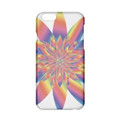 Chromatic Flower Gold Rainbow Star Apple Iphone 6/6s Hardshell Case