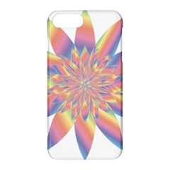 Chromatic Flower Gold Rainbow Star Apple Iphone 7 Plus Hardshell Case by Alisyart