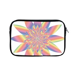 Chromatic Flower Gold Rainbow Star Apple Macbook Pro 13  Zipper Case by Alisyart