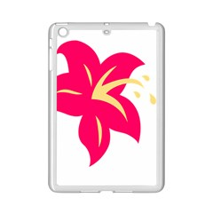 Flower Floral Lily Blossom Red Yellow Ipad Mini 2 Enamel Coated Cases