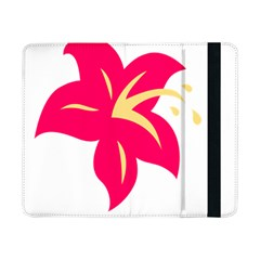 Flower Floral Lily Blossom Red Yellow Samsung Galaxy Tab Pro 8 4  Flip Case by Alisyart
