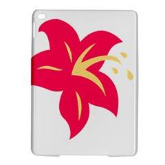 Flower Floral Lily Blossom Red Yellow Ipad Air 2 Hardshell Cases by Alisyart