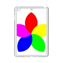 Fan Star Floral Ipad Mini 2 Enamel Coated Cases